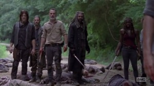A New Beginning- Everyone sees that Ken has died- The Walking Dead