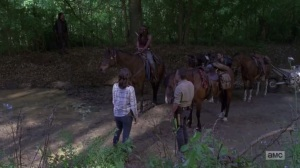 A New Beginning- Group debates how to move the wagon- The Walking Dead