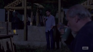 A New Beginning- Hilltop gathers for Ken's funeral- The Walking Dead