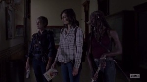 A New Beginning- Maggie, Carol, and Michonne explore the museum- The Walking Dead