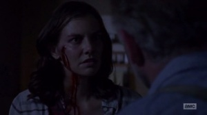 A New Beginning- Maggie confronts Gregory- The Walking Dead