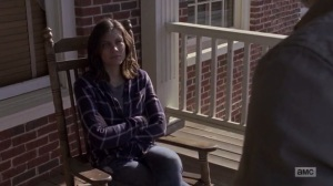 A New Beginning- Maggie listens to Rick's proposal- The Walking Dead