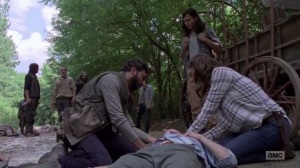 A New Beginning- Maggie putting Ken down- The Walking Dead