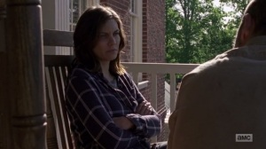 A New Beginning- Maggie won't hand over more food or supplies without getting something in return- The Walking Dead