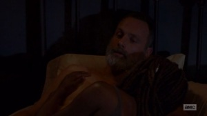 A New Beginning- Rick tells Michonne that he thinks about his decision to let Negan live- The Walking Dead
