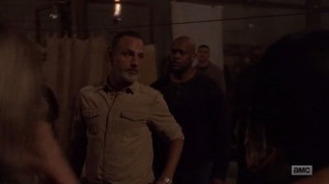 A New Beginning- Rick tells the Saviors that the Sanctuary will get back on its feet- The Walking Dead