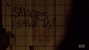 A New Beginning- Saviors Save Us, We Are Still Negan- The Walking Dead