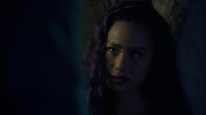 afterMath- Blink listens as Erg tells her to never hide who she is- The Gifted, Fox, X-Men
