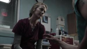 afterMath- Caitlin treats John's burns- The Gifted, Fox, X-Men