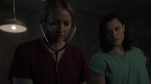 afterMath- Caitlin treats Michael and warns John not to attack the Purifiers- The Gifted, Fox, X-Men