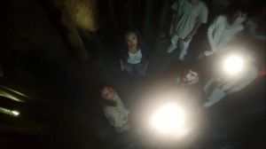 afterMath- Glow, played by Laysla De Oliveira, creates light energy- The Gifted, Fox, X-Men