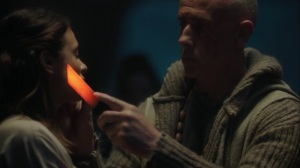 afterMath- Glow receives the Morlocks marking on her face- The Gifted, Fox, X-Men
