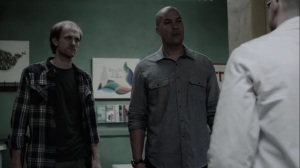 afterMath- Jace and Kyle question doctor on where the mutants are hiding- The Gifted, Fox, X-Men