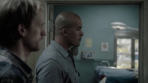 afterMath- Jace notices the burned operating chair at the clinic- The Gifted, Fox, X-Men