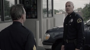 afterMath- Jace Turner as a Dallas Police Department officer- The Gifted, Fox, X-Men