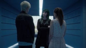 afterMath- Lorna finds Andy and Rebecca about to leave the Inner Circle for the day- The Gifted, Fox, X-Men