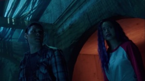 coMplications- John and Clarice explore the sewers- The Gifted, Fox, X-Men