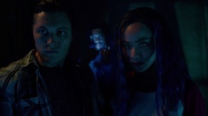 coMplications- John and Clarice surrounded by the Morlocks- The Gifted, Fox, X-Men