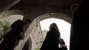 coMplications- Marcos asks the nuns if he can see his father- The Gifted, X-Men