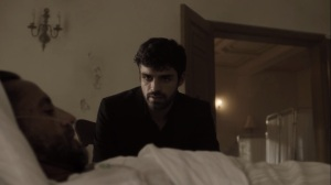 coMplications- Marcos speaks with his bedridden father- The Gifted, X-Men, Fox