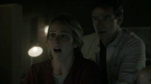outMatched- Caitlin and Reed see Andy on the surveillance footage- The Gifted, Fox, X-Men