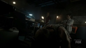 outMatched- Caitlin offers to inject Graph to get him to access the system- The Gifted, Fox, X-Men