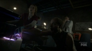 outMatched- Graph access the hospital system- The Gifted, Fox, X-Men