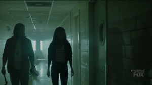 outMatched- John and Clarice at the hospital- The Gifted, Fox, X-Men