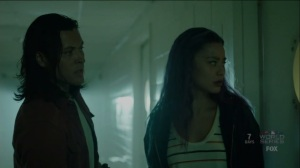 outMatched- John and Clarice explore Lynwood Hospital- The Gifted, Fox, X-Men