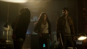 outMatched- John, Marcos, and Clarice encounter Wire's brother- The Gifted, Fox, X-Men