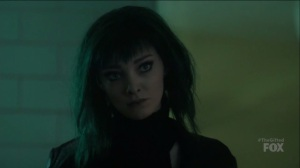 outMatched- Lorna stares down John and Clarice- The Gifted, Fox, X-Men