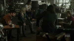 outMatched- Marcos tells everyone about his encounter with the Inner Circle- Fox, The Gifted, X-Men