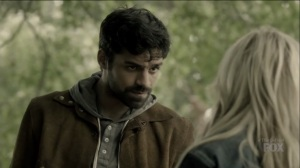 outMatched- Marcos tells Lauren about when Reeva attacked him- The Gifted, Fox, X-Men