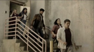 outMatched- Reed and Caitlin tell the mutants about Graph's update- The Gifted, Fox, X-Men