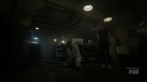 outMatched- Reed's powers manifest- The Gifted, Fox, X-Men