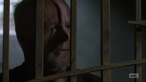 The Bridge- Earl tells Maggie that Gregory didn't make him do anything- AMC, The Walking Dead