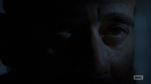 The Bridge- Negan tells Rick that he's getting the world ready for him to return- AMC, The Walking Dead