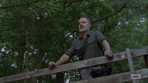 The Bridge- Rick talks about making a new beginning- AMC, The Walking Dead