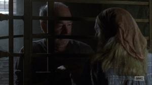 The Bridge- Tammy visits Earl- AMC, The Walking Dead