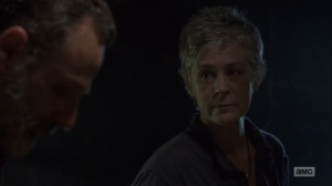 The Obliged- Carol confirms to Rick that she's going back to the Kingdom- AMC, The Walking Dead