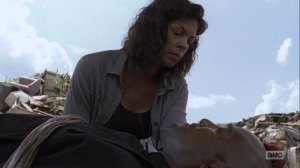 The Obliged- Jadis awakens Gabriel- AMC, The Walking Dead