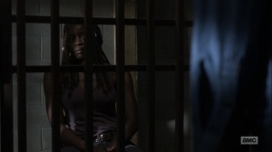 The Obliged- Michonne tells Negan that civilization is moving on without him- AMC, The Walking Dead