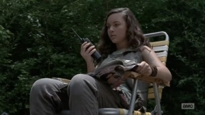 The Obliged- Rachel says that Maggie is done talking- AMC, The Walking Dead
