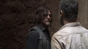 The Obliged- Rick and Daryl argue- AMC, The Walking Dead