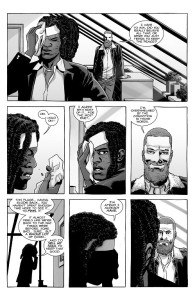 The Walking Dead #184- Michonne and Rick discuss the Commonwealth