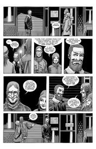 The Walking Dead #184- Rick talks with Commonwealth citizens