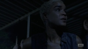 Warning Signs- Arat begs for Maggie and Daryl to help her- AMC, The Walking Dead