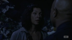 Warning Signs- Jadis thought Gabriel was a B- AMC, The Walking Dead