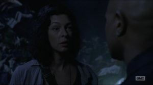 Warning Signs- Jadis wants Gabriel to come with her- AMC, The Walking Dead