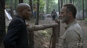 Warning Signs- Rick asks Gabriel to keep an eye on Jadis- AMC, The Walking Dead